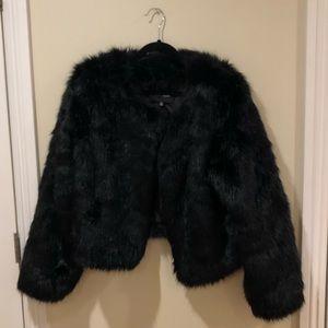 FashionNova faux fur coat